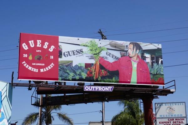 Guess Produce Farmers Market Summer 2018 billboard