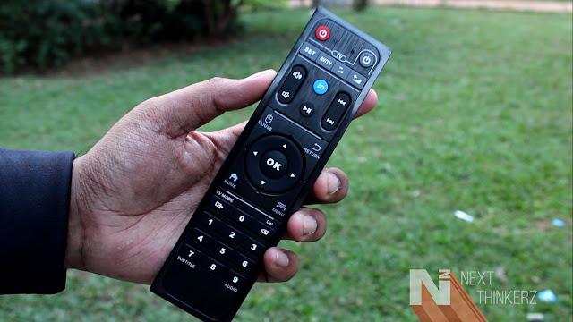 HiMedia Q10 Pro remote
