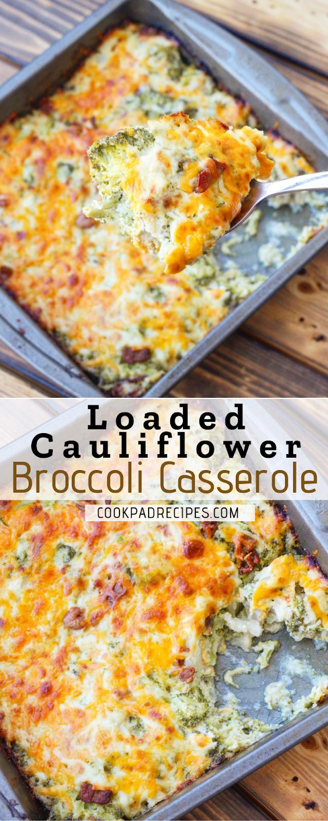 Loaded Cauliflower Brоссоlі Cаѕѕеrоlе