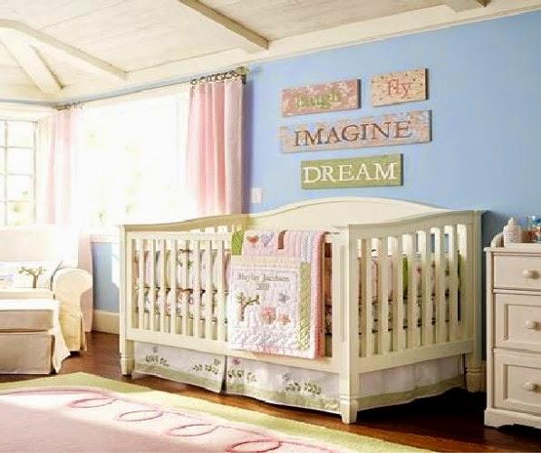 habitación bebé fresca luminosa
