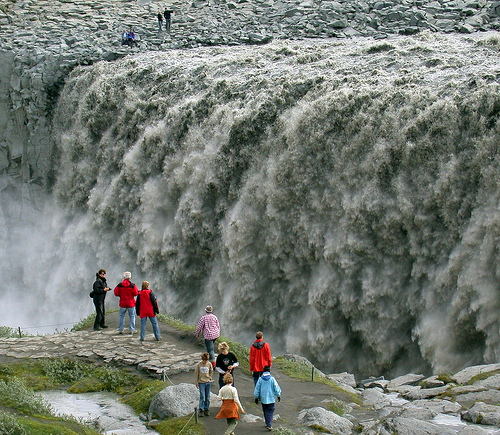 Image result for Dettifoss waterfall