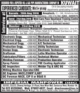 oil & gas jobs kuwait