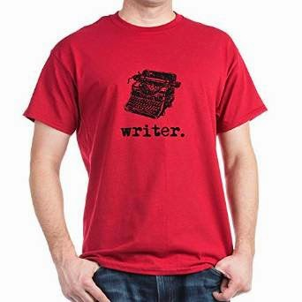 "Typewriter ""Writer"" T-shirt for men"