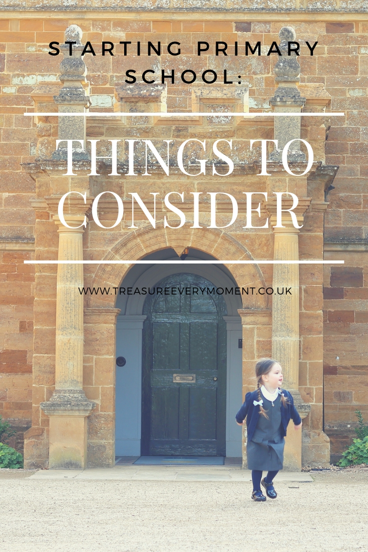 STARTING PRIMARY SCHOOL: Things to Consider