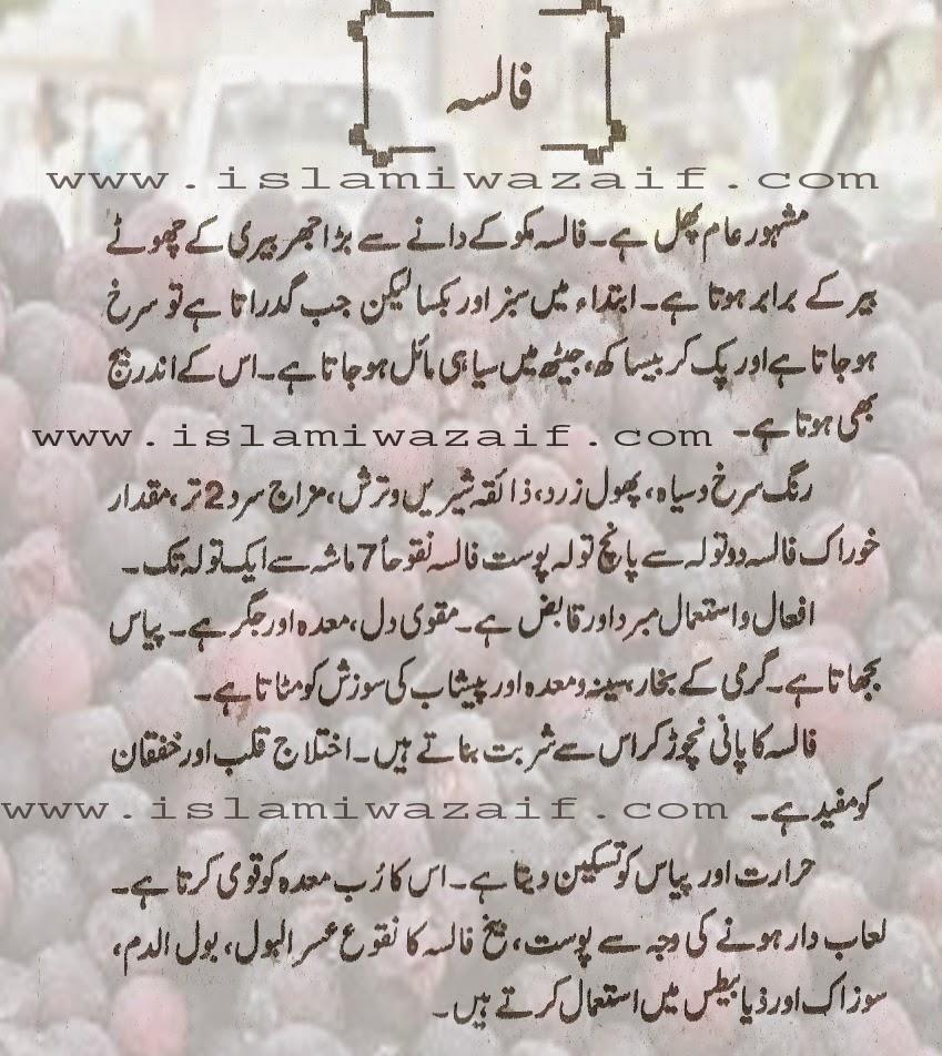 false ke faiday in urdu