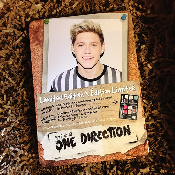 Makeup by One Direction Tins: Niall Horan, Harry Styles, Zayn Malik // Photo Credit: Intrice Blog