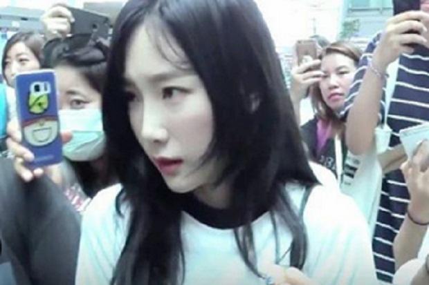 Taeyeon SNSD Tiba di Jakarta