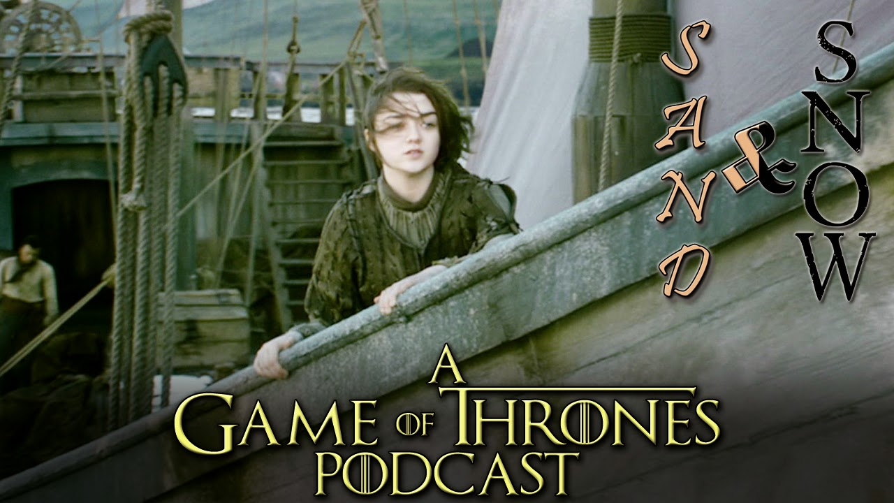 Arya Stark sets sail for Braavos wallpaper