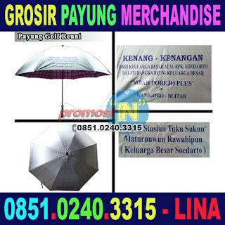 Jual Merchandise Payung Murah Grosir Reuni Keluarga Besar