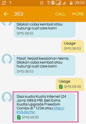 Paket data Kuota Gratis 1GB/Bulan dari Indosat Selama 12 Bulan
