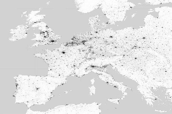 Novo mapa-múndi mostra Pegada Humana na Terra