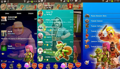 BBM Mod Clash of Clans (COC) Update Apk Full DP Terbaru