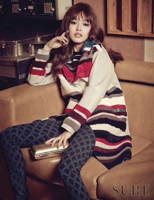 Hwang Se On - Sure Magazine November Issue 2014