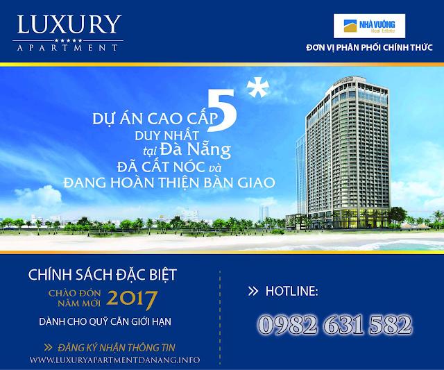 Mở bán căn hộ 5 sao Luxury Apartment Đà Nẵng