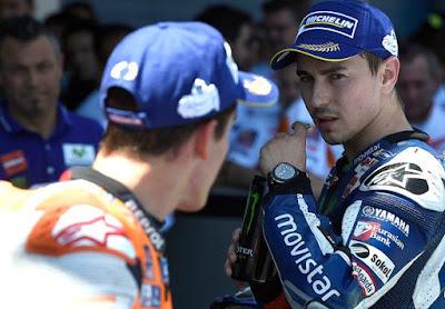 Marquez - Lorenzo Akan Jadi Musuh di Lintasan Sampai 2019