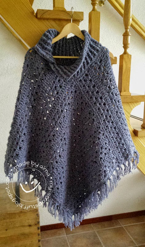 Poncho No 4 Simply Made By Alma