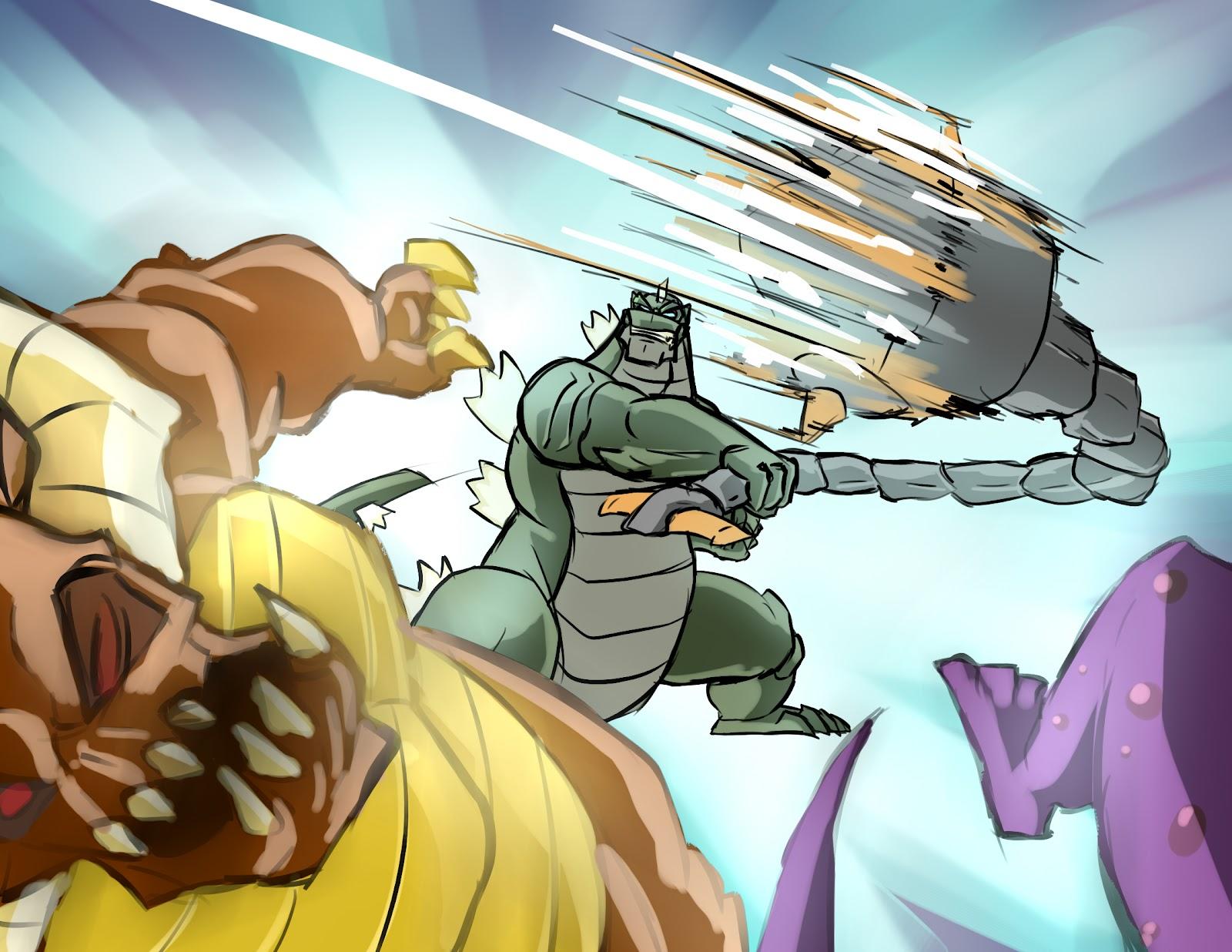 Godzilla Vs Anguirus Rodan And King Caesar Godzilla  all monsters    Godzilla Vs Anguirus Rodan And King Caesar