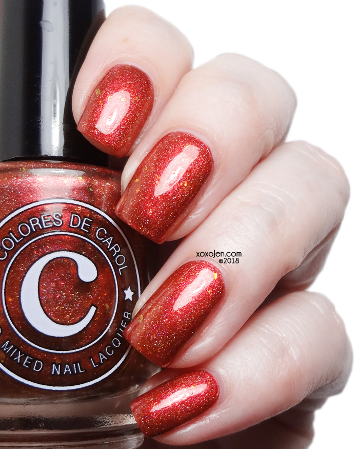 xoxoJen's swatch of Colores de Carol Spiced Apple Cider