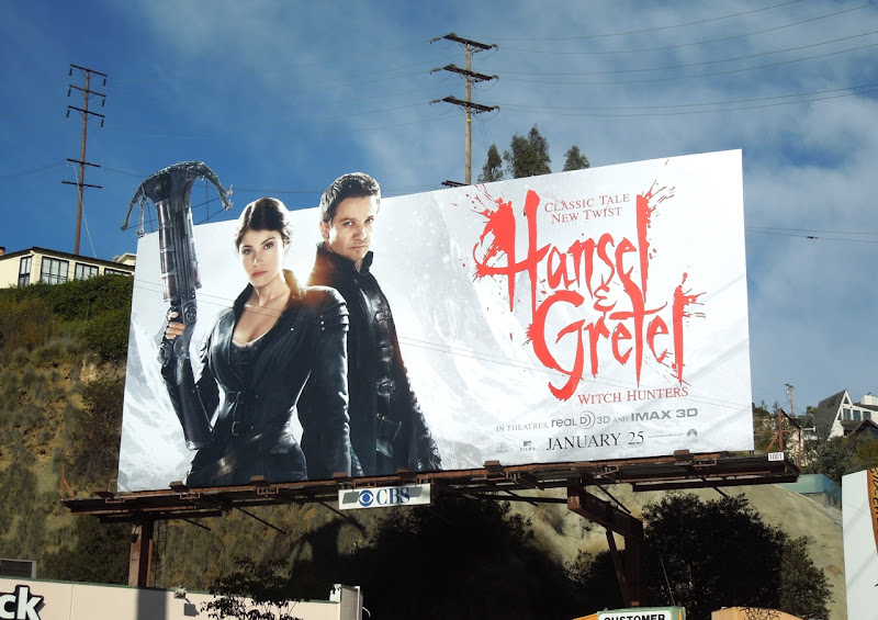 Hansel Gretel Witch Hunters extension billboard
