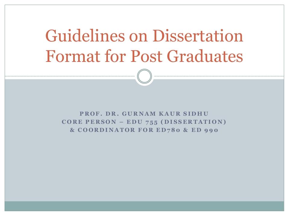 Find a dissertation online - Valley Junction