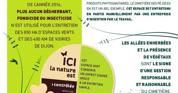Actualites ecologiques de dijon for Flyer espace vert