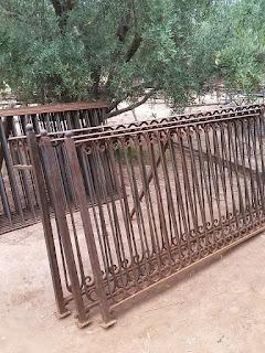 clôtures en fer forgé, piscine, jardin,