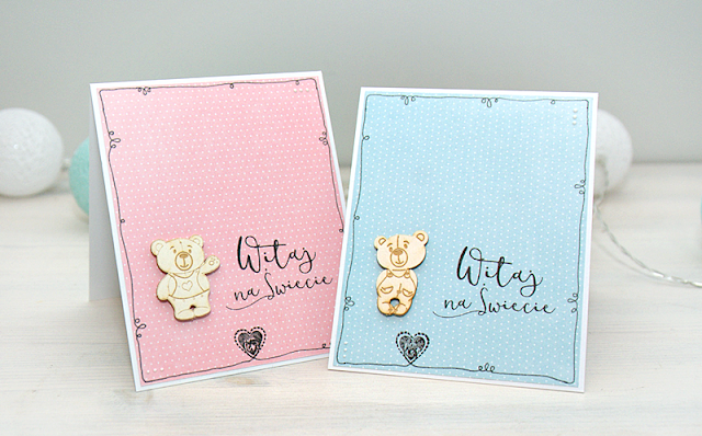 new baby card handmade