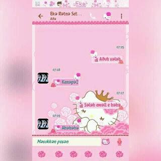 BBM MOD Pink versi 3.2.0.6 Screenshot