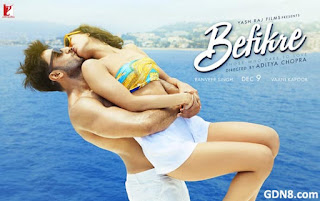 Befikre Hindi Movie Poster - Ranveer Singh, Vaani Kapoor