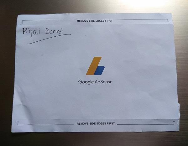 Pengalaman Pertaman Mendapatkan PIN Google Adsense