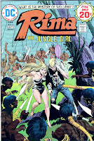 Rima the Jungle Girl v1 #3 dc bronze age comic book cover art by Joe Kubert