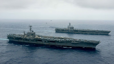 Ketika Indonesia Menembaki Kapal Nelayan China dan Tiba Tiba AS Kirim Dua Kapal Induk - Commando