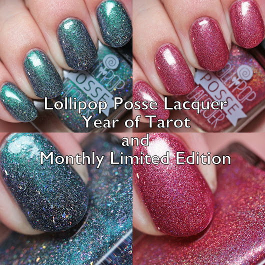 Lollipop Posse September 2018 Year of Tarot and Monthly Limited Edition Swatches and Review