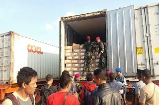 TNI AL Gagalkan Penyelundupan 4 Petikemas Daging Sapi Asal Australia