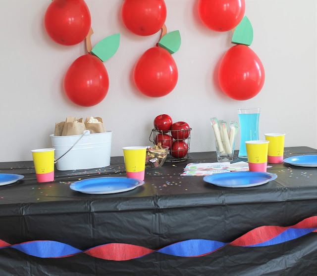 Surprise Back to School Party