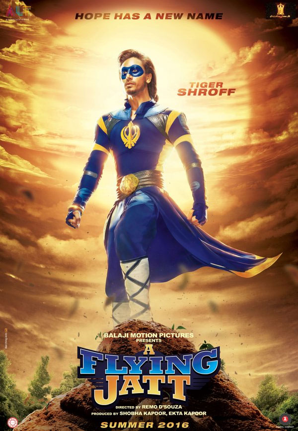full cast and crew of bollywood movie Turbanator — The Flying Jat! wiki, story, poster, trailer ft Tiger Shroff, Jacqueline Fernandez