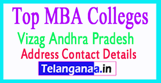Top MBA Colleges in Vizag Andhra Pradesh