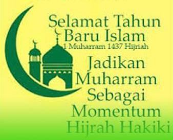 Kata Ucapan Selamat Tahun Baru Islam Islami 1437 H 2016