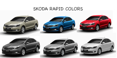 2017 Skoda Rapid Monte Carlo All Colors