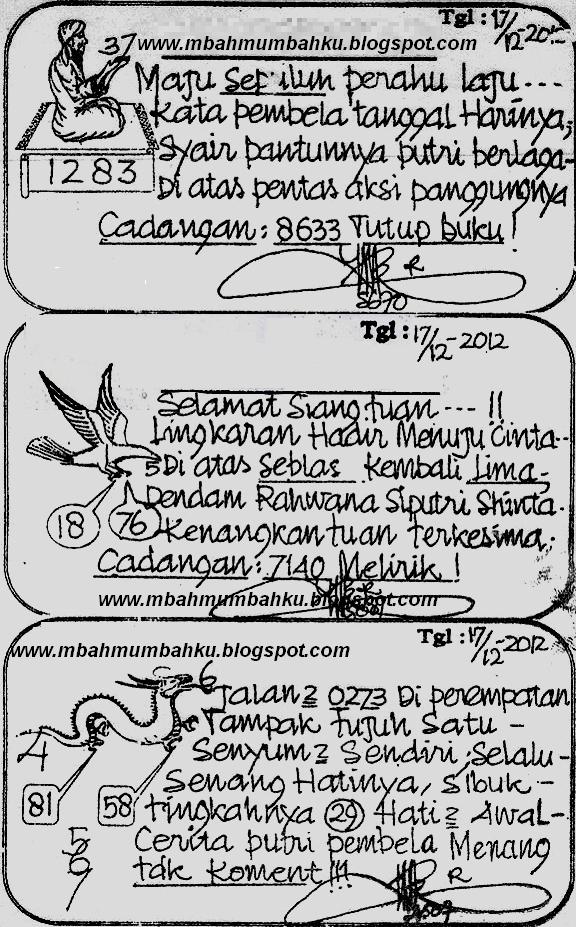 Prediksi Togel Singapura Senin Syair Togel Sgp