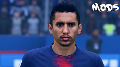 FIFA 19 Faces Marquinhos by CrazyRabbit