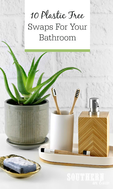 10 Plastic Free Swaps to Make In Your Bathroom - Eco Friendly, War on Waste, Environmentally Friendly