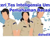 Materi Tes lnteligensia Umum (TIU) Pemahaman Bacaan