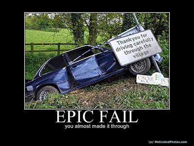 Los mejores Epic Fail