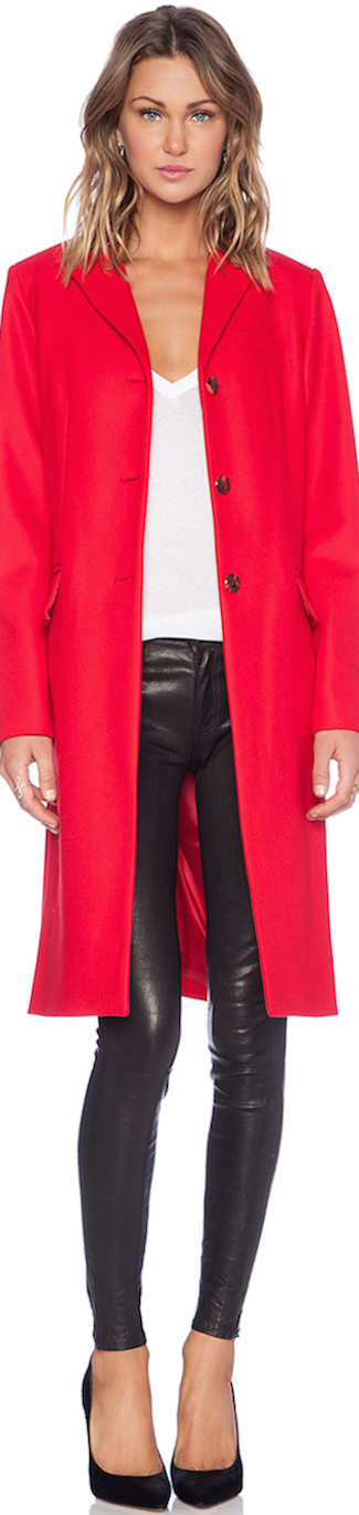RED Marc by Marc Jacobs Hiro Felt Jacket