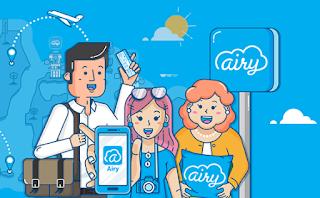 pesan tiket pesawat promo di airy