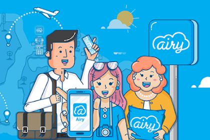Cara pesan tiket pesawat promo di Airy dan dapat diskon harga
