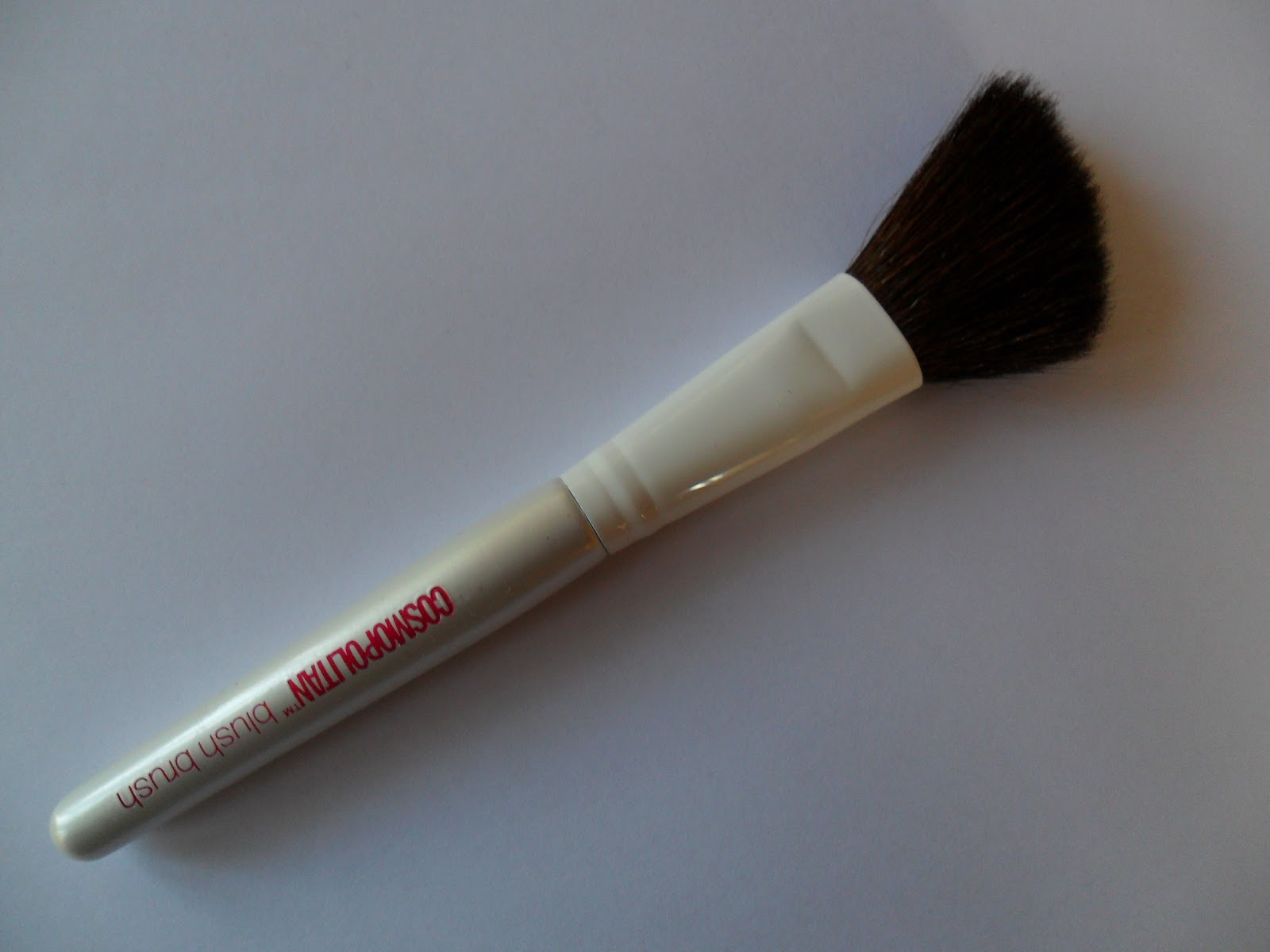 review of cosmopolitan perfect finish blush brush