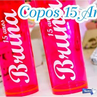 COPOS ANIVERSÁRIO 15 ANOS
