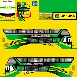 Download Livery Bus Putra Luragung SDD